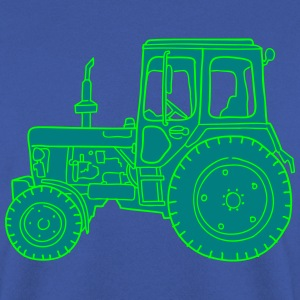 Tracteur dans l'agriculture 2 Sweat-shirts - Sweat-shirt Homme