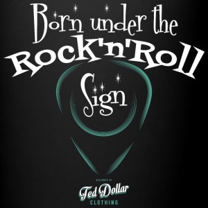 Born under the Rock'n'Roll sign - Tasse en couleur