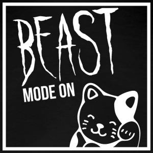 Beast Mode On - Cat - White T-Shirts - Frauen Premium T-Shirt