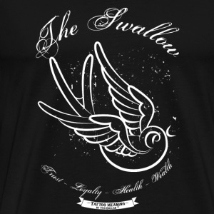 The Tattoo Swallow - T-shirt Premium Homme