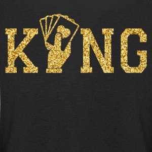 Poker King Long Sleeve Shirts - Kids' Premium Longsleeve Shirt