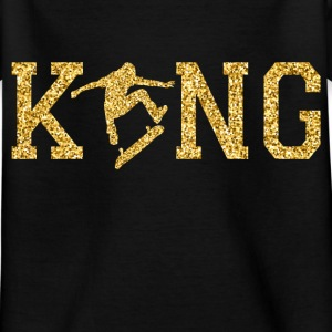 Skateboard King Shirts - Kids' T-Shirt