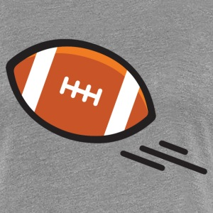 American Football Touchdown Quarterback Sport Bowl - Frauen Premium T-Shirt
