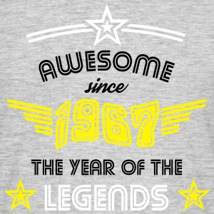 Awesome since 1967 - Psychedelic Edition T-Shirts - Männer T-Shirt