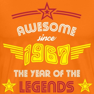 Awesome since 1967 - Psychedelic Edition T-Shirts - Männer Premium T-Shirt
