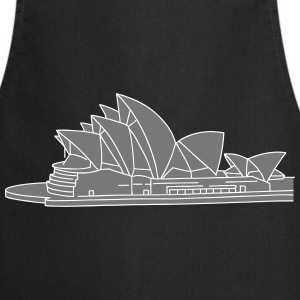 Opera House in Syndey 2  Aprons - Cooking Apron