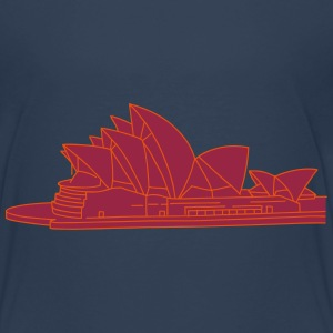 Opera House in Syndey 2 Shirts - Kids' Premium T-Shirt