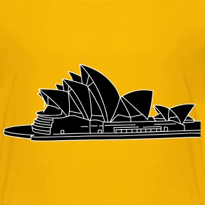 Opera House in Syndey 2 Shirts - Teenage Premium T-Shirt