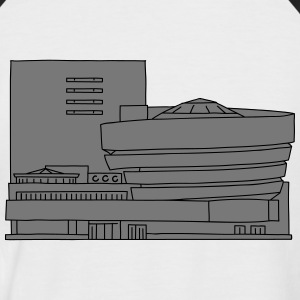 Guggenheim Museum New York 2 T-Shirts - Men's Baseball T-Shirt