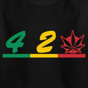 420 rokers liefde Shirts - Teenager T-shirt