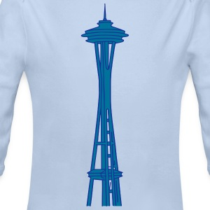 Space Needle a Seattle 2 Body neonato - Body ecologico per neonato a manica lunga