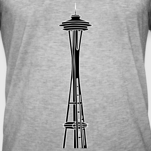 Space Needle in Seattle 2 T-Shirts - Männer Vintage T-Shirt