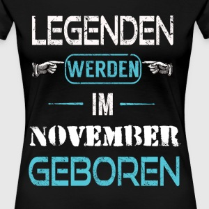 November - Frauen Premium T-Shirt