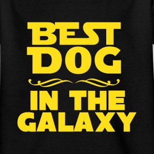 Best dog in the galaxy Shirts - Kinderen T-shirt