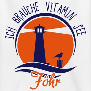 Vitamin See Föhr T-Shirts - Teenager T-Shirt