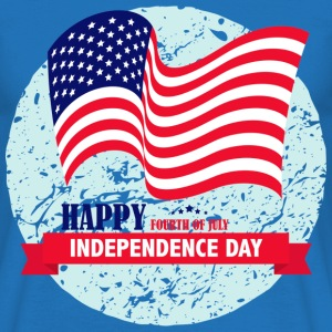 Independence Day USA T-Shirts - Männer T-Shirt