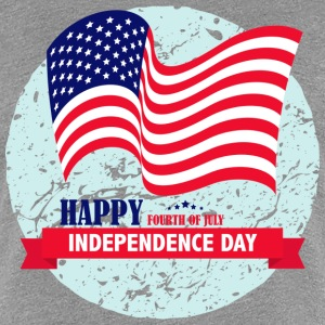 Independence Day USA T-Shirts - Frauen Premium T-Shirt