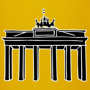Brandenburg Gate in Berlin 2 Mugs & Drinkware - Full Colour Mug