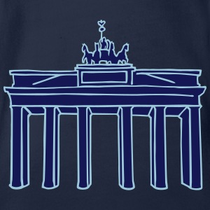 Brandenburg Gate in Berlin 2 Baby Bodysuits - Organic Short-sleeved Baby Bodysuit