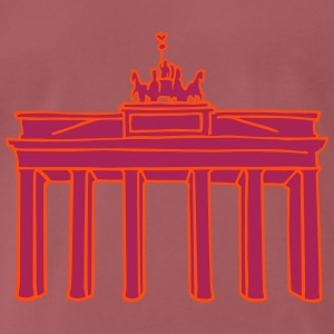 Brandenburg Gate in Berlin 2 T-Shirts - Men's Premium T-Shirt