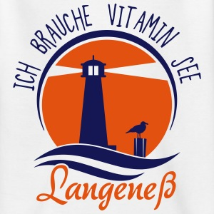 Vitamin See Langeneß T-Shirts - Teenager T-Shirt