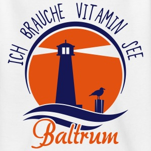 Vitamin See Baltrum T-Shirts - Teenager T-Shirt