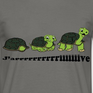 Tortues j'arrive Tee shirts - T-shirt Homme
