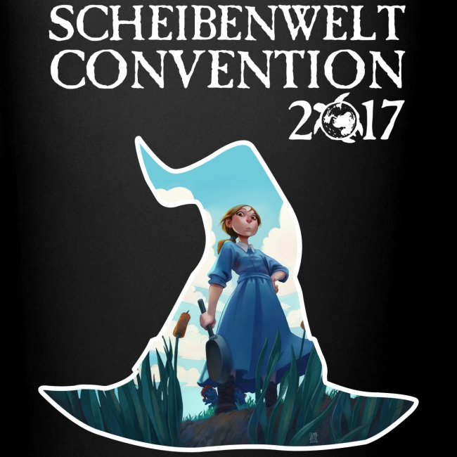 Scheibenwelt Convention 2017 Tasse Motiv Tiffany