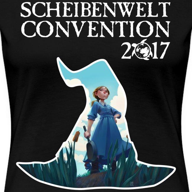 Scheibenwelt Convention 2017 Damen T-Shirt Motiv Tiffany