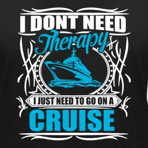 i don't need therapy  Tee shirts - T-shirt col V Femme