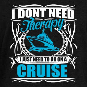 i don't need therapy  Hoodies & Sweatshirts - Women's Boat Neck Long Sleeve Top