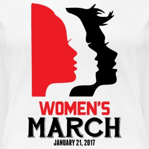 Women's March on Washington 2017 Official T-Shirts - Women's Premium T-Shirt