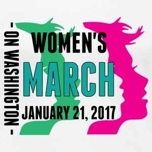 Women's March on Washington 2017  T-Shirts - Women's Premium T-Shirt