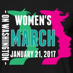 Women's March on Washington 2017  T-Shirts - Men's T-Shirt