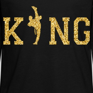 Karate King Manga larga - Camiseta de manga larga premium adolescente