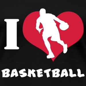 I Love Basketball T Shirt T-Shirts - Women's Premium T-Shirt