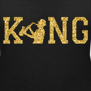 Jazz King T-Shirts - Women's V-Neck T-Shirt