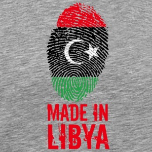 Made in Libya / Gemacht in Libyen ليبيا - Männer Premium T-Shirt