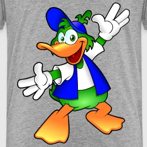Cartoon Ente T-Shirts - Kinder Premium T-Shirt