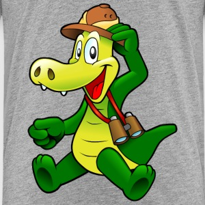 Cartoon Krokodil T-Shirts - Kinder Premium T-Shirt