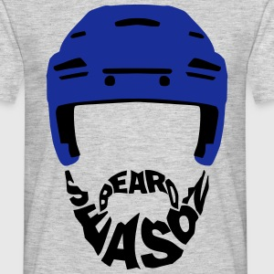 Ice Hockey Beard Season T-Shirts - Men's T-Shirt