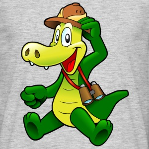 Cartoon Krokodil T-Shirts - Männer T-Shirt