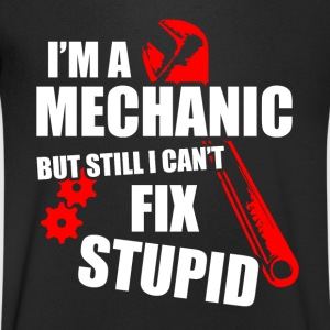 mechanic T-Shirts - Men's V-Neck T-Shirt