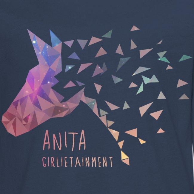 Anita Girlietainment GALAXY Einhorn - Teenager Langarmshirt
