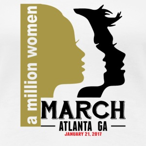 Women's March Atlanta T-Shirts - Women's Premium T-Shirt