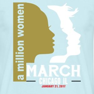 Women's March Chicago Il T-Shirts - Men's T-Shirt