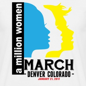 Women's March Denver Colorado T-Shirts - Men's T-Shirt