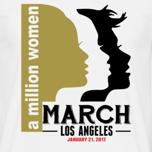 Women's March Los Angeles T-Shirts - Men's T-Shirt