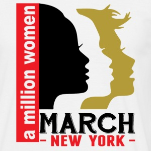 Women's March New York T-Shirts - Men's T-Shirt