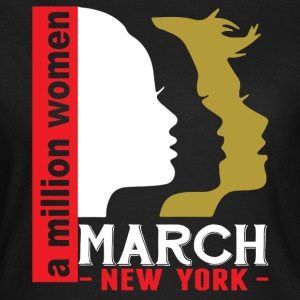 Women's March New York T-Shirts - Women's T-Shirt